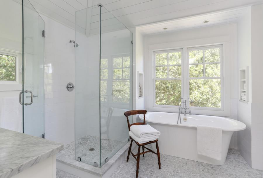 back to shower cleaning tips for a gleaming powder room