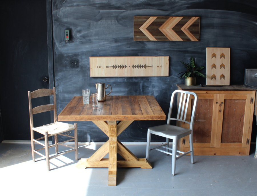 Modern Trestle Tables For Your Interior - Square trestle dining table
