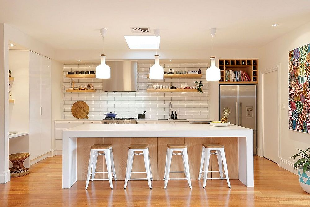 50 modern scandinavian kitchens that leave you spellbound for Kitchen setting pictures