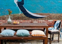 Taking your love for wall art outdoors! [Design: Etica Studio]