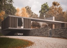 The Quest -  Midcentury-esque single-story dwelling