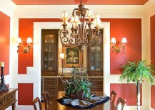Think beyond the walls when it comes to adding orange