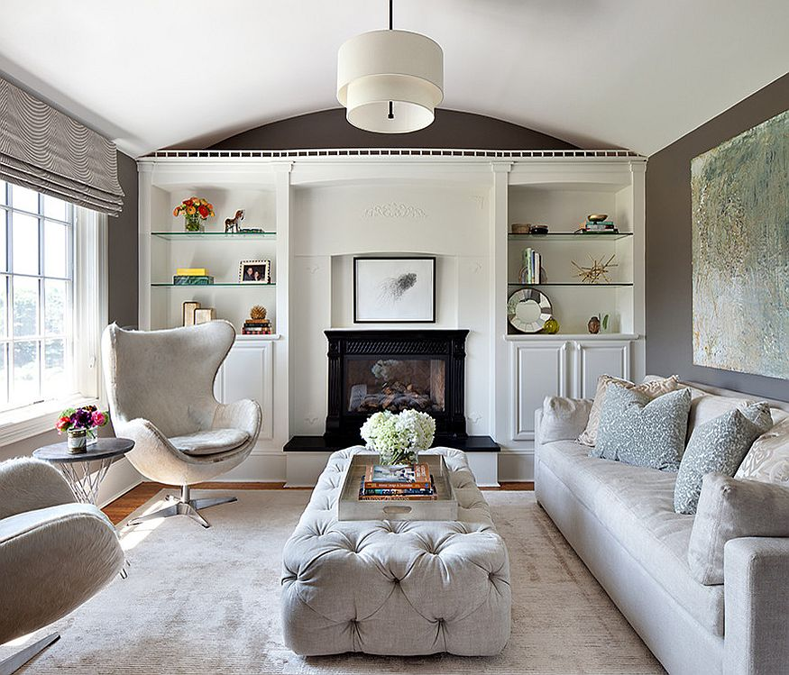 Cozy Living Room: 50 Tufted And Upholstered Coffee Tables For The Cozy