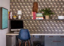 Turn a corner in the kitche into a productive workspace