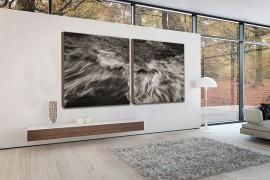 Turn to black and white wall art to create monochromatic magic