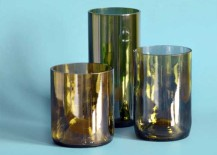 Upcycled Wine Bottle Tumblers