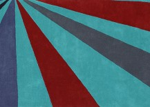 Vibrant rug from CB2