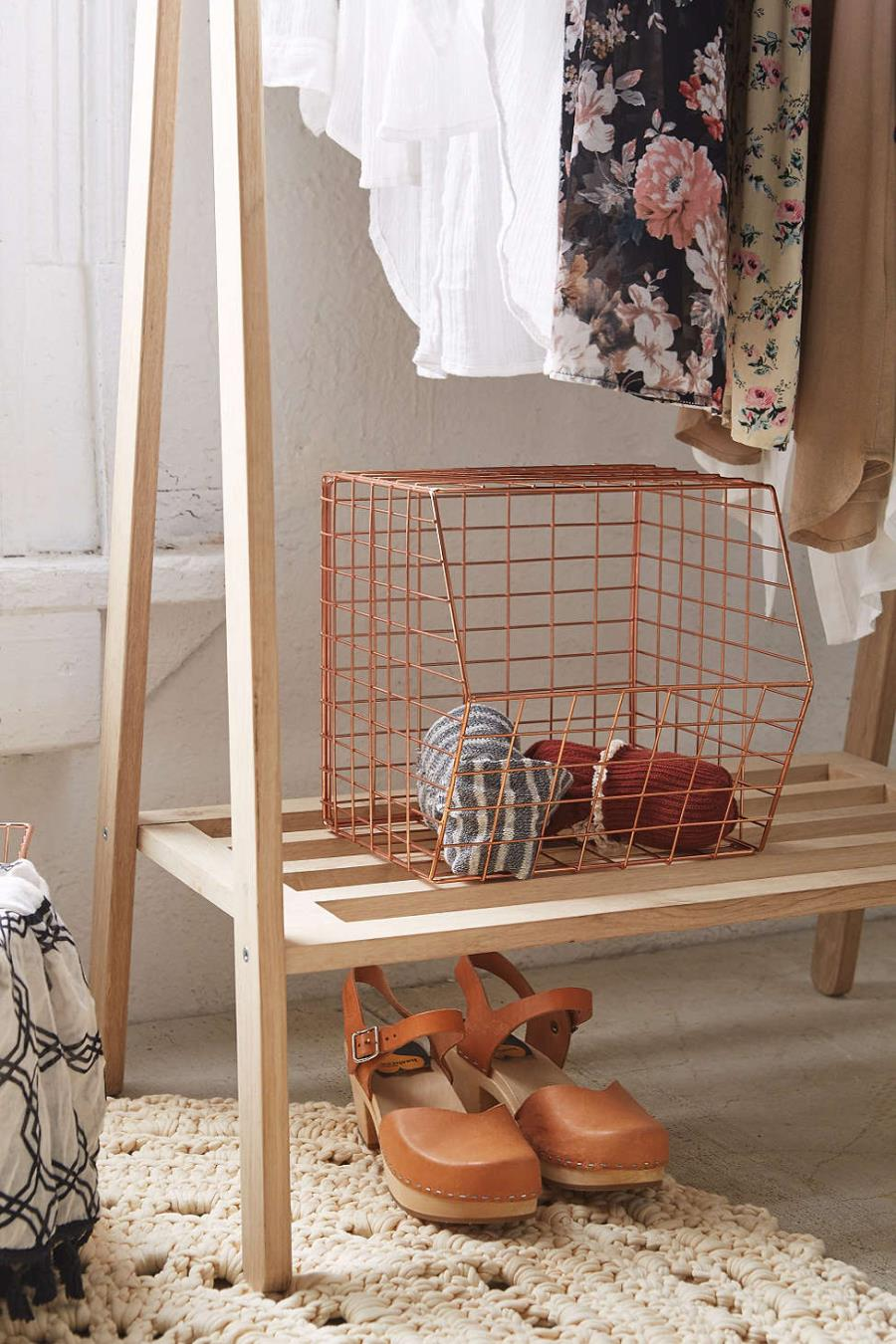 Wire storage shelf from Urban Outfitters