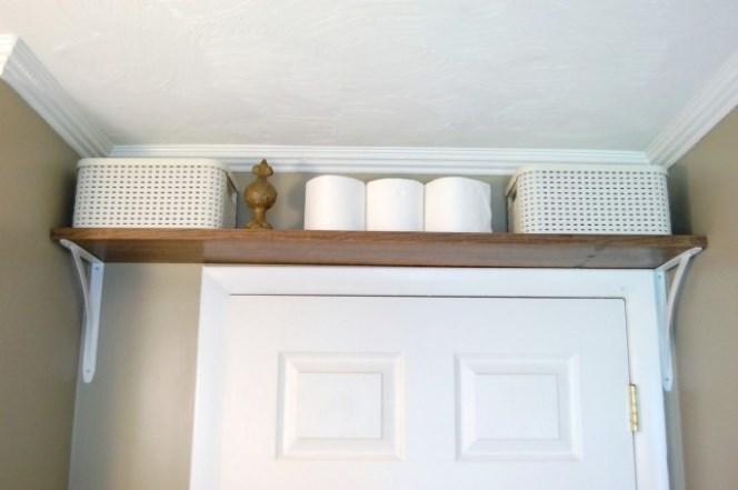 above door shelving bathroom storage 13