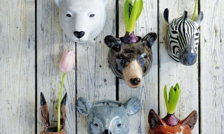 22 Whimsical Planters Inspired by Exotic Wildlife