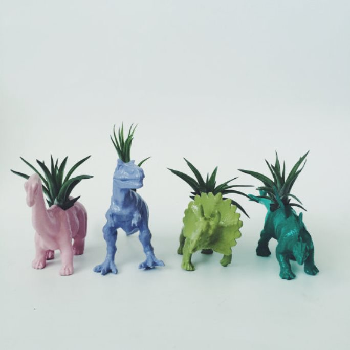 animal planter dinosaurs 12