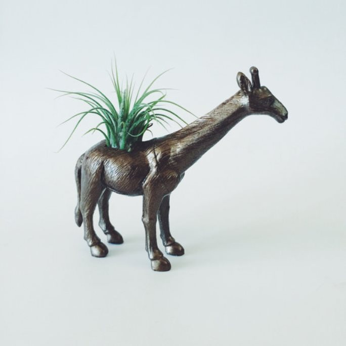 animal planter giraffe 9