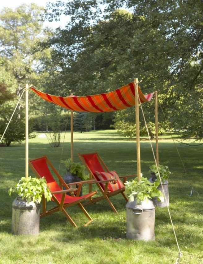 View in gallery backyard canopy shade 1 & Easy Canopy Ideas to Add More Shade to Your Yard