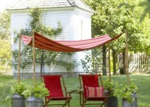 backyard canopy shade 2 217x155 Easy Canopy Ideas to Add More Shade to Your Yard