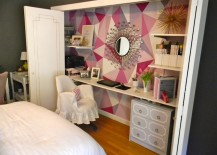 office closet. Well, If You\u0027re Willing To Sacrifice Some Storage Space, Then The Closet Could Be Your Solution. These Closets-turned-offices Maximize Space In Small Rooms Office O