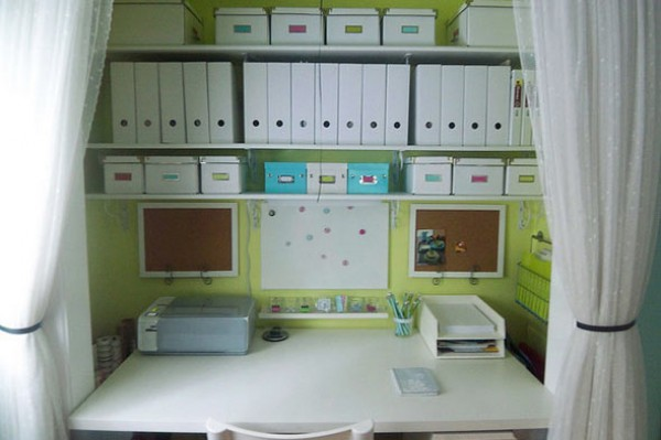 Groovy 15 Closets Turned Into Space Saving Office Nooks Largest Home Design Picture Inspirations Pitcheantrous