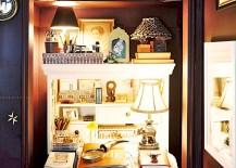 Light up your closet workspace beautifully