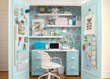 15 Closets Turned into Space-Saving Office Nooks