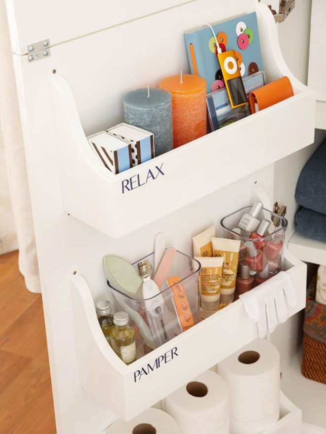8 brilliant storage ideas for your small bathroom Storage solutions for tiny bathrooms