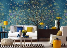 fantasy forest mural wallpaper 4 217x155 15 Impressive Wall Mural Ideas That Bring the Outdoors In