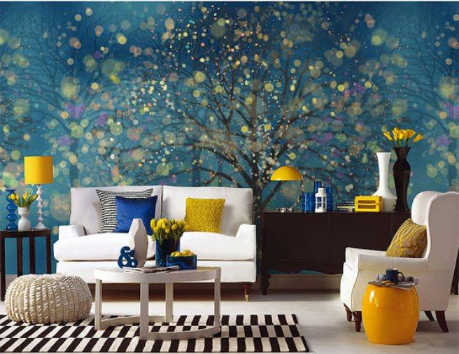 fantasy forest mural wallpaper 4