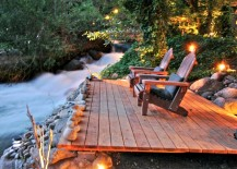Diy Floating Deck With Fire Pit