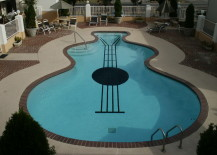 guitar shaped pool 5 217x155 Summery Swimming Pools with the Most Unusual Shapes
