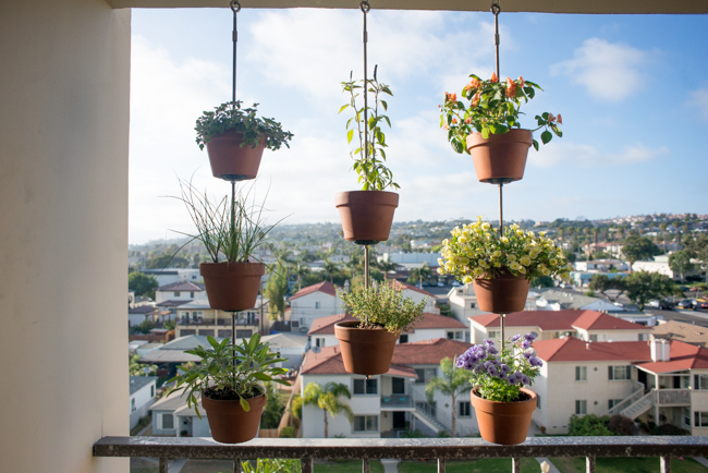 Potted Herb Garden Ideas diy vertical planter great option for an herb garden if low on space Potted Perfection