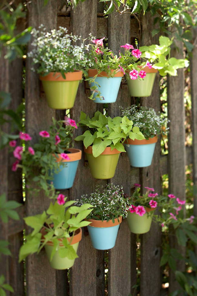 Potted Herb Garden Ideas a quick guide to garden pots planters and containers View In Gallery Herb Garden 3 Colorful Potted