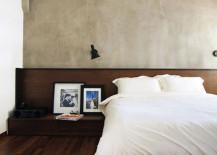 Minimal modern bedroom design