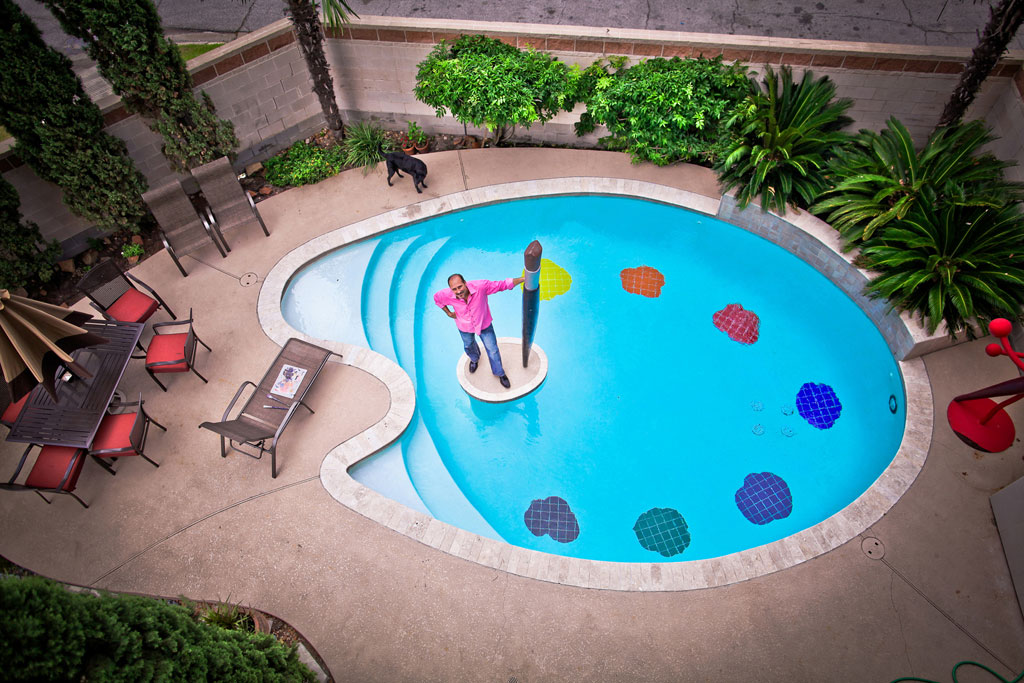 painter palette shaped pool 12
