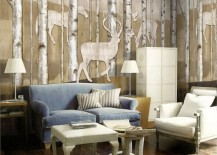 reinder woods mural wallpaper 5 217x155 15 Impressive Wall Mural Ideas That Bring the Outdoors In