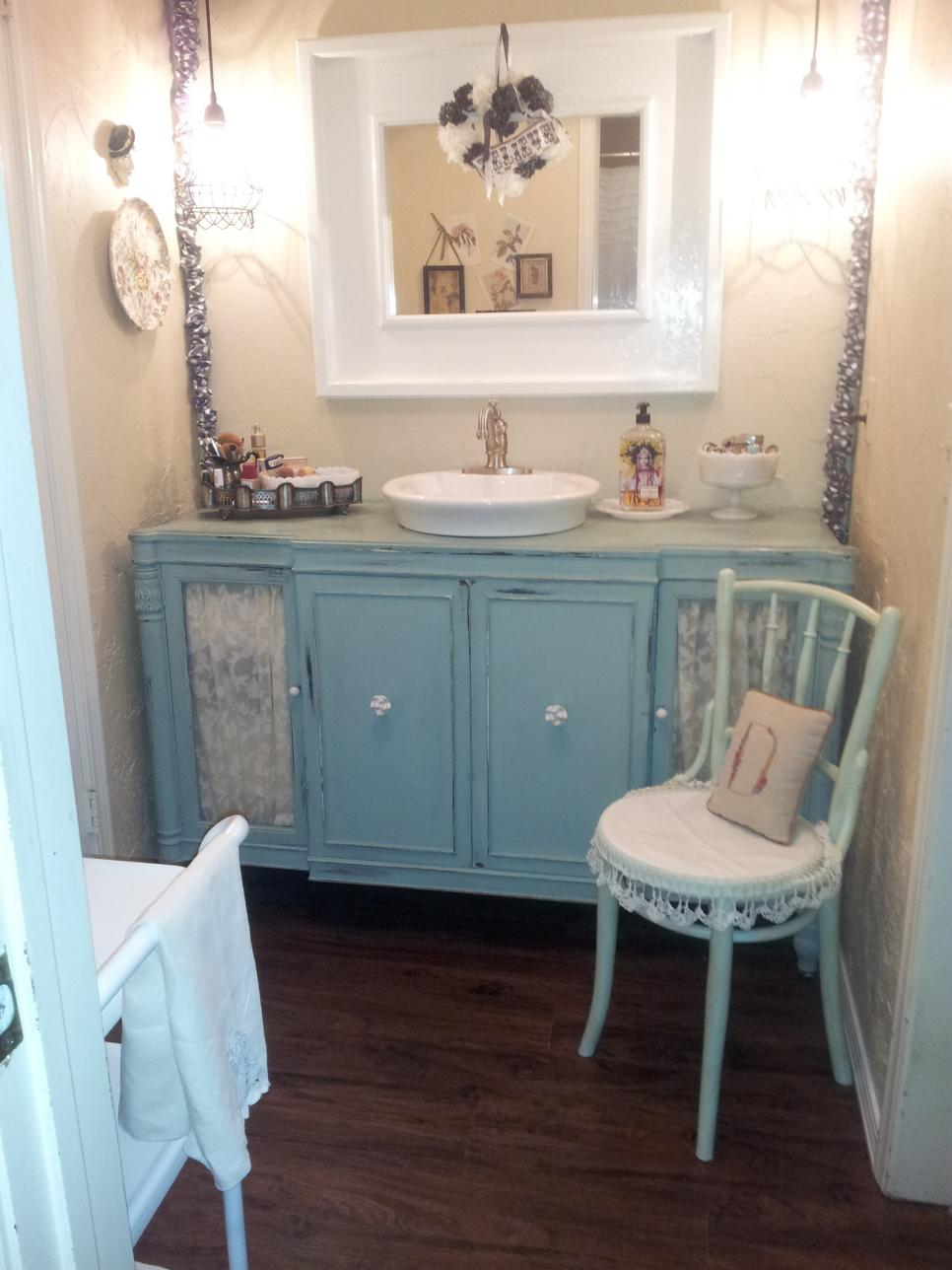 shabby chic bathroom 11