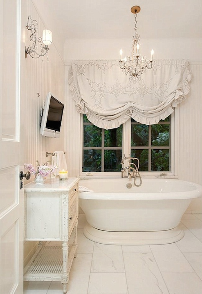 18 bathrooms for shabby chic design inspiration for Photo shabby chic