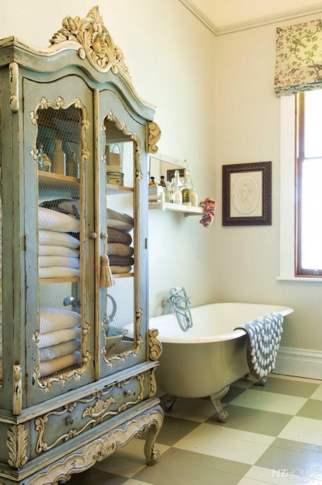 18 bathrooms for shabby chic design inspiration for Salle de bain cottage