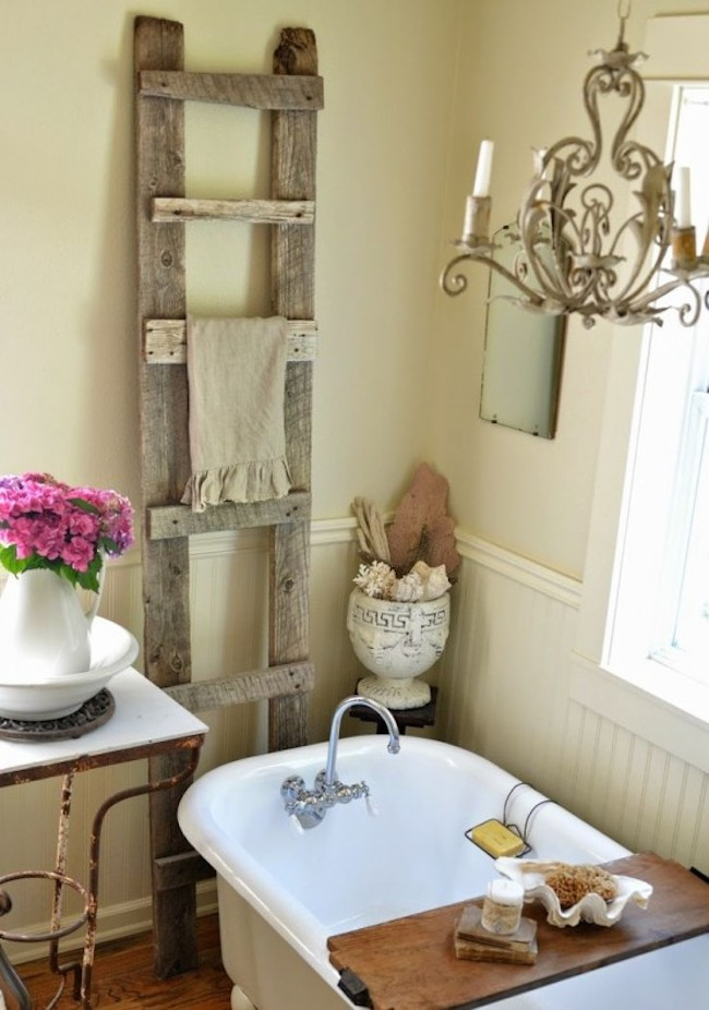 shabby chic bathroom 8