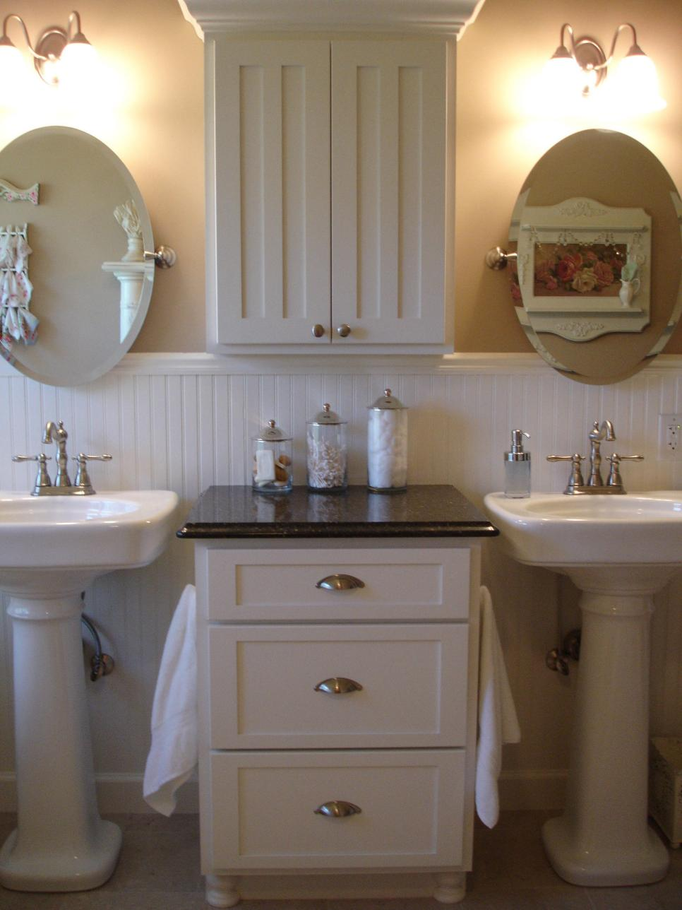 shabby chic bathroom 9