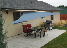 shade sail 14 217x155 Easy Canopy Ideas to Add More Shade to Your Yard