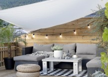 Create temporary outdoor shade with ease using sails