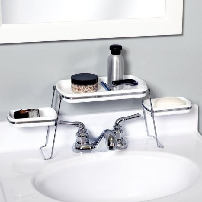 View In Gallery Small Sink Bathroom Storage 4