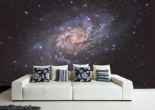 Captivating wall mural for those who love the cosmos
