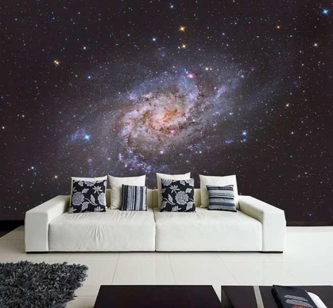 space mural wallpaper 1
