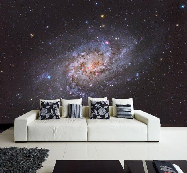 space mural wallpaper 1