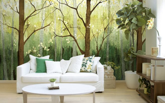 15 Impressive Wall Mural Ideas That Bring The Outdoors In