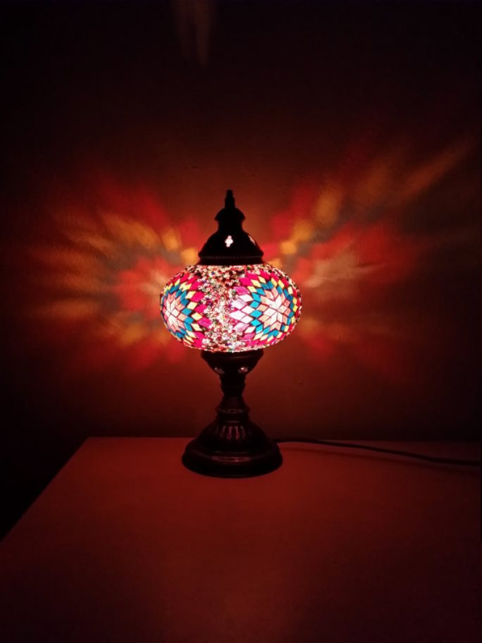 stained glass lamp 13