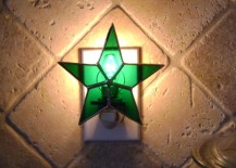 stained glass night light 18 217x155 8 Stained Glass Accessories for Adding Some Shimmer to Any Room