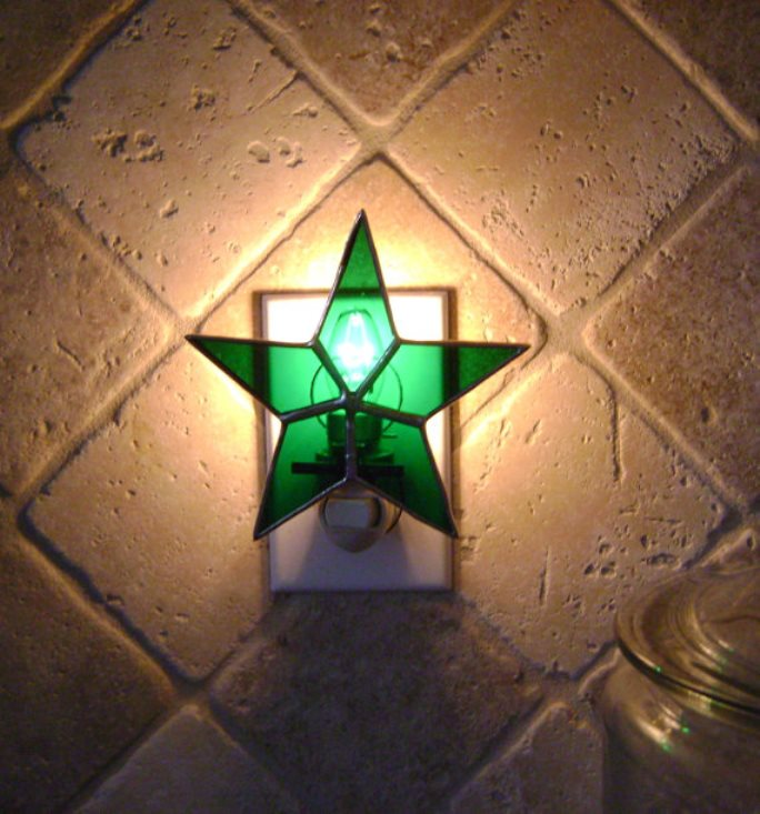 stained glass night light 18