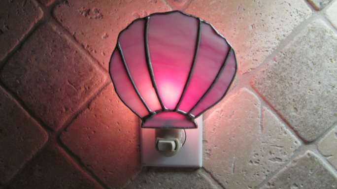 Pink Christmas Light