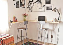 standing desk 1 217x155 8 Design Tips for Standing Desks That Are Versatile Enough for Sitting Too!