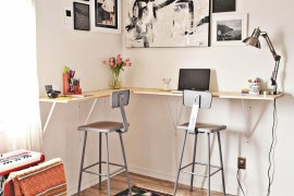 8 Design Tips for Standing Desks That Are Versatile Enough for Sitting Too!